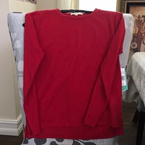 Cooper Key NWT girls M long sleeve red tee shirt